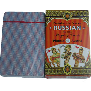 Russian cards Marked Cards