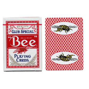 Bee marked cards with bees