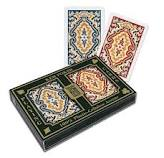 Paisley narrow size jumbo index Marked Cards