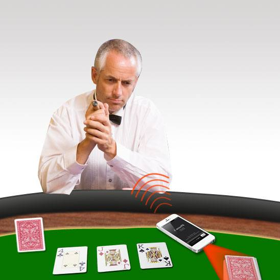 Texas Holdem poker scanning system series